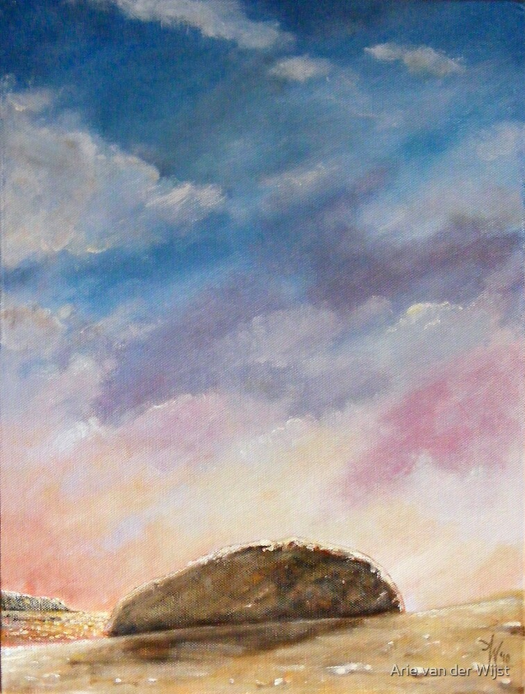 Beached Rock by Arie van der Wijst