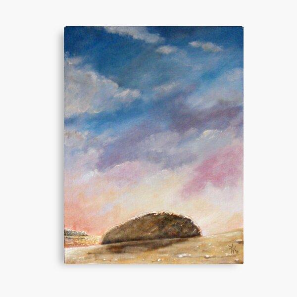 Beached Rock Canvas Print
