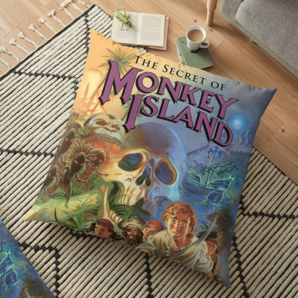 The Secret of Monkey Island Floor Pillow