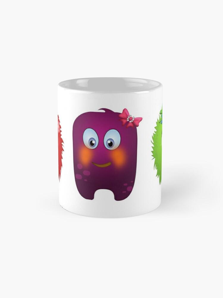 Alternate view of Cute monsters Mug