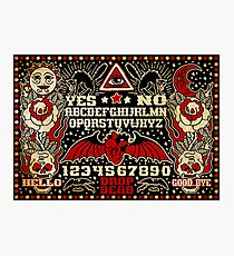 Ouija Board Photographic Print