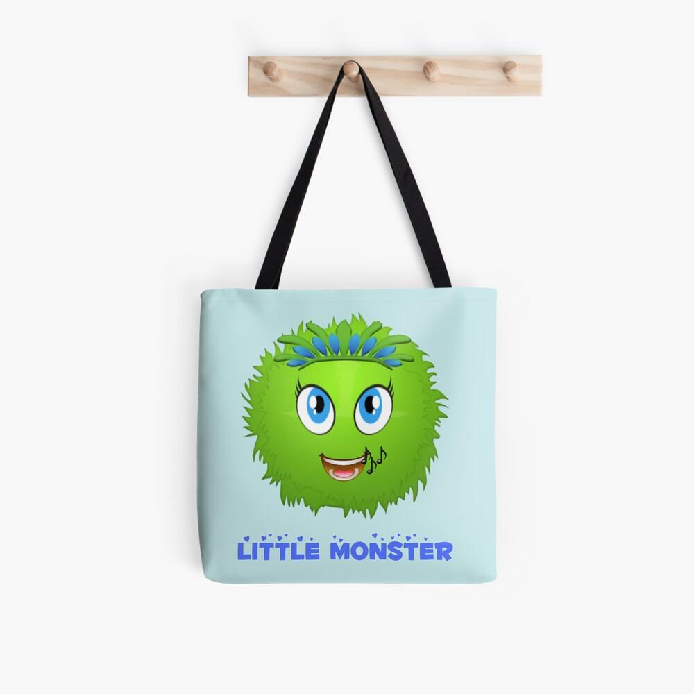 Singing cute monsters Tote Bag