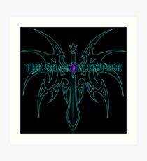 The Shadow Empire Vothus Blue Art Print