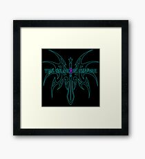 The Shadow Empire Vothus Blue Framed Print