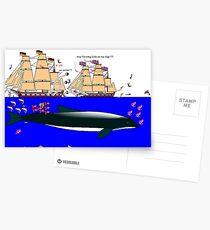 Sea Fighting Postcards