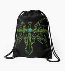 The Shadow Empire Zarakar Green Drawstring Bag