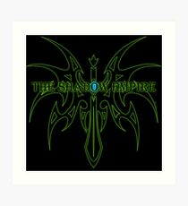 The Shadow Empire Zarakar Green Art Print