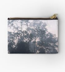 The mysteries of the morning mist Zipper Pouch