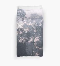 The mysteries of the morning mist Duvet Cover