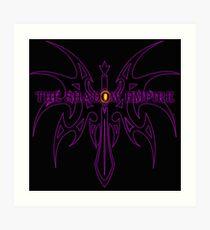 The Shadow Empire Vothus Purple Art Print