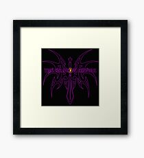 The Shadow Empire Vothus Purple Framed Print
