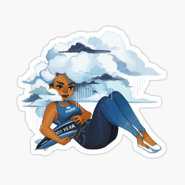Head in the Clouds Sticker