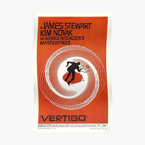 Classic Movie Poster - Vertigo Poster