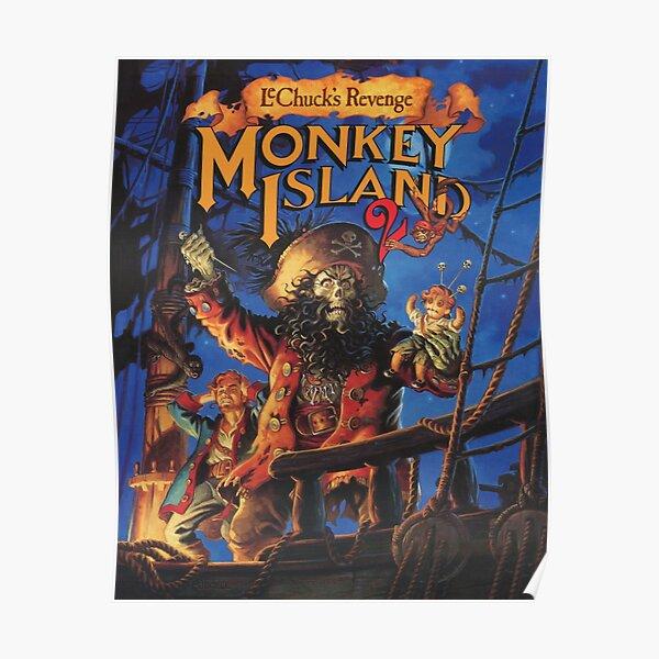 Monkey Island 2: LeChuck's Revenge Póster