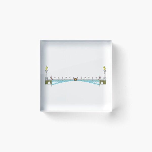 Pont Alexandre III Bloc acrylique