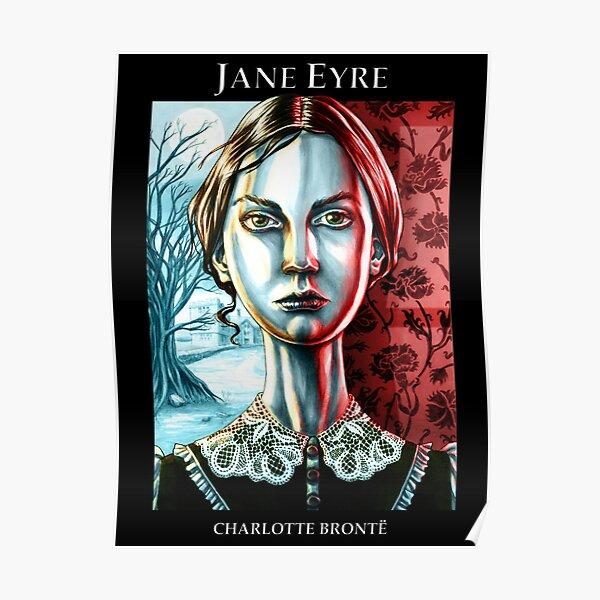 Jane Eyre by Charlotte Brontë Poster