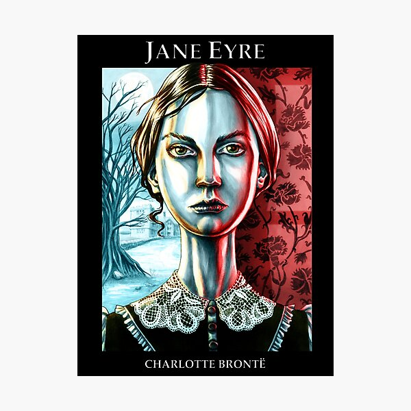 Jane Eyre by Charlotte Brontë Photographic Print