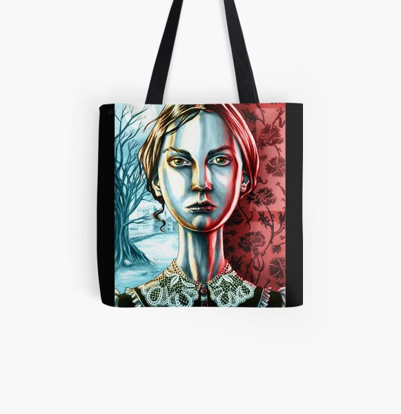 Jane Eyre by Charlotte Brontë All Over Print Tote Bag