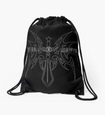 The Shadow Empire Angrelian Black Drawstring Bag