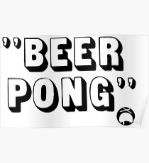 Beer Pong Poster