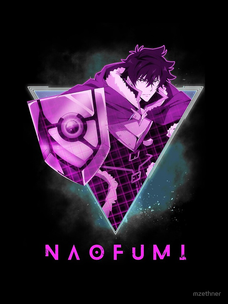 Naofumi - The Rising of the Shield Hero | Anime Shirt 80s by mzethner