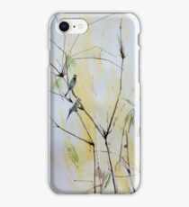 Finches in Bamboo iPhone Case/Skin
