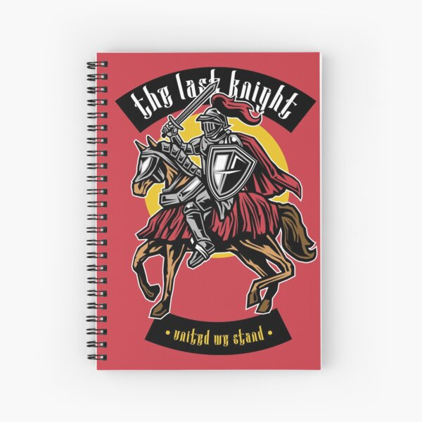 The Last Knight Spiral Notebook