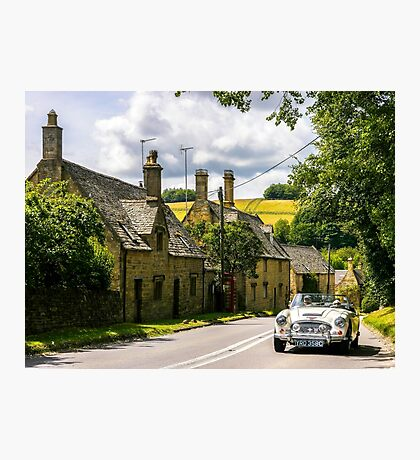 Yesteryear. The Cotswolds. Photographic Print