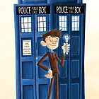 The Tenth Doctor Phone Case edition by Jeff Crowther