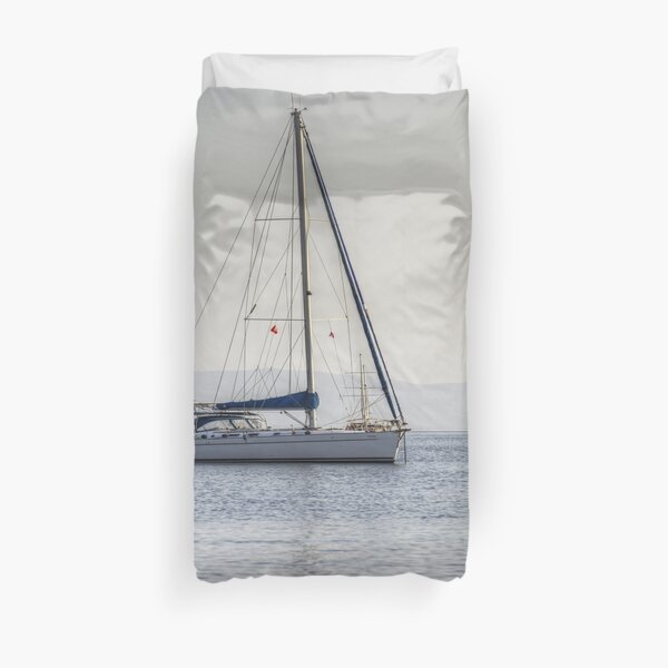 The Relaxation Yacht Duvet Cover