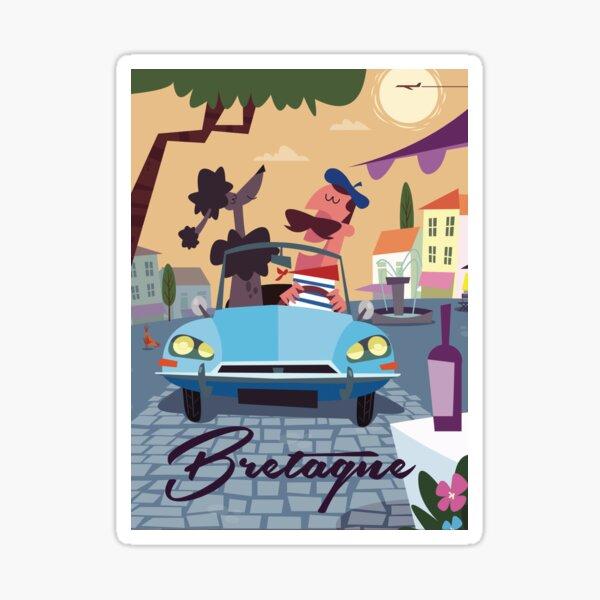 Affiche Bretagne Sticker