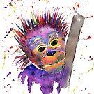 Flinty the Baby Orangutan by Fiona Fletcher