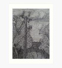 Live Wire Art Print