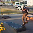 Ollie To Frontside 5-0 by reflector