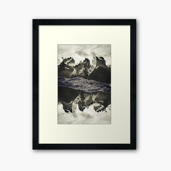 Land 77 Framed Art Print