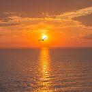 Sunset at the Baltic sea by Svetlana Korneliuk