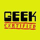 Certified Geek by Becpuss