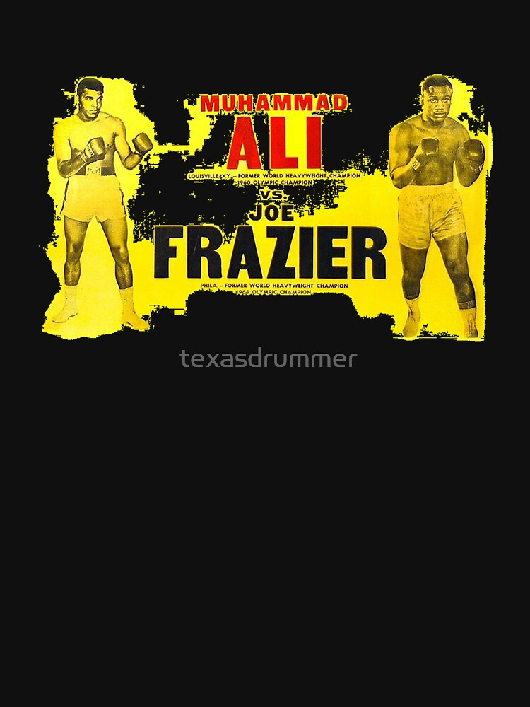 Ali-Frazier Fight by texasdrummer