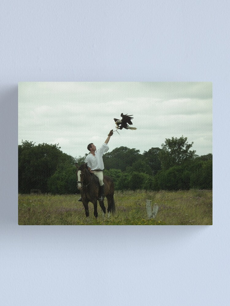 Alternate view of Medieval England - Falconer Canvas Print
