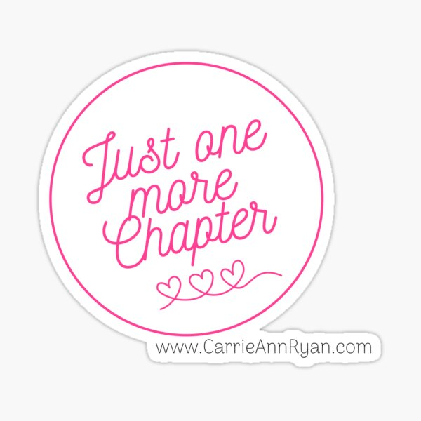 Just One More Chapter! Sticker