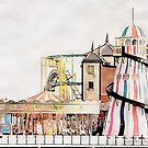 Funfair On Brighton Pier by Dorothy Berry-Lound
