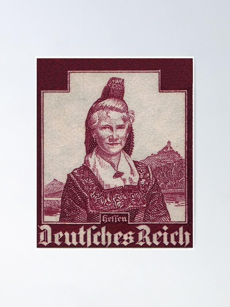 Alternate view of Hessen Trachten...Hesse Folk Costume Poster
