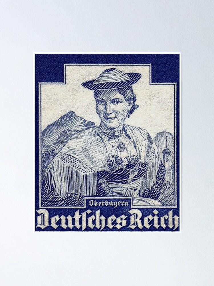 Alternate view of Oberbayern Trachten...Upper Bavaria Folk Costume Poster
