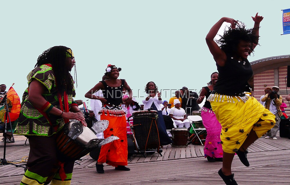 TRIBUTE TO THE ANCESTORS - CONEY ISLAND, NEW YORK by KENDALL EUTEMEY