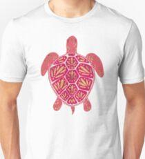 Pink & Gold Sea Turtle Unisex T-Shirt