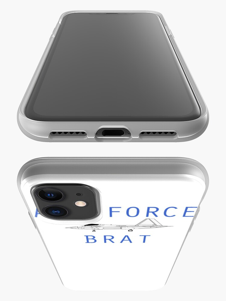 Alternate view of F-22 Air Force Brat iPhone Case & Cover
