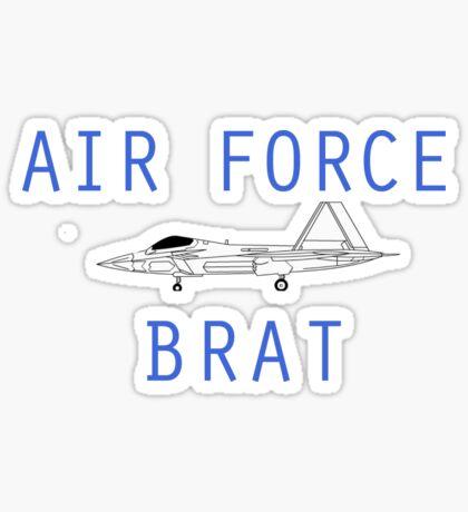 F-22 Air Force Brat Sticker