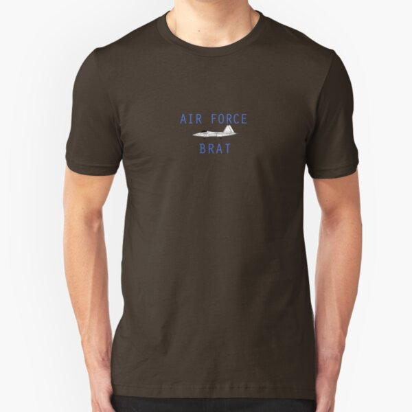 F-22 Air Force Brat Slim Fit T-Shirt