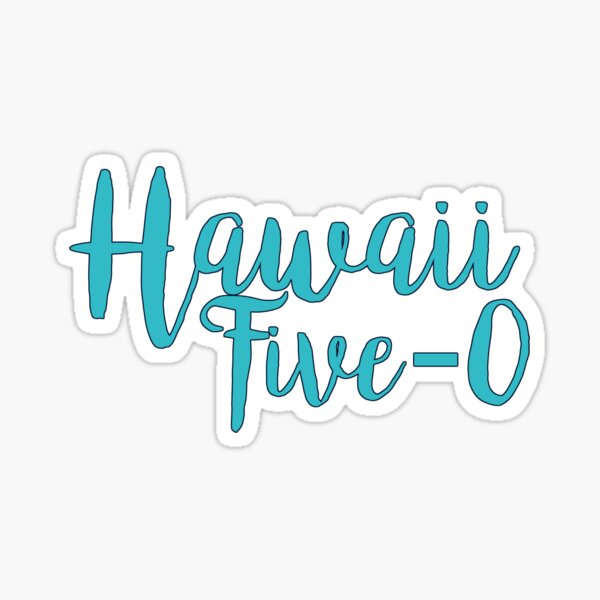 Hawaii Five-0 Pegatina