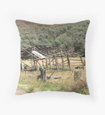 Blowering History Throw Pillow